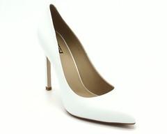 Туфли из натуральной кожи на высоком каблуке