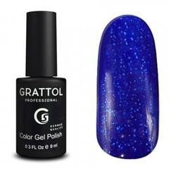 Grattol, Гель-лак Luxury Stones № 003, Sapphire, 9 мл