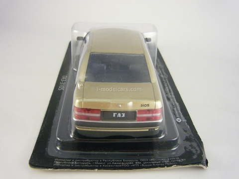GAZ-3105 Volga golden 1:43 DeAgostini Auto Legends USSR Best #31