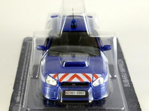 Subaru Impreza Gendarmerie France 1:43 DeAgostini World's Police Car #4