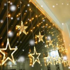 Занавес звезды   LED 12