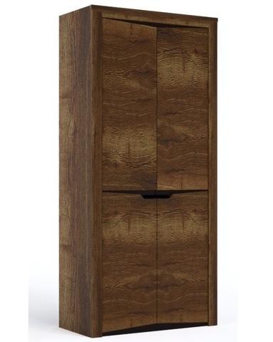 Шкаф  ГАРДА 2-х дверный дуб галифакс табак