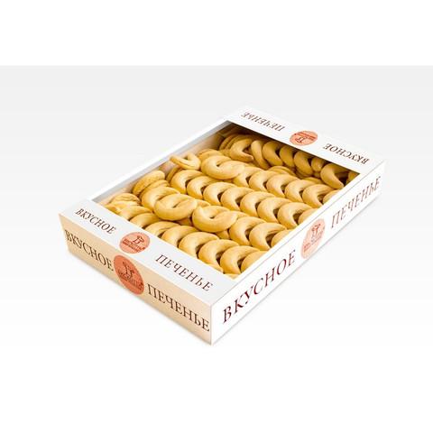 Печенье Бискотти Маковые рогалики 1.5 кг