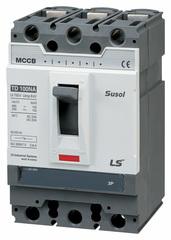 Автоматический выключатель TD100N (50kA) FMU 100A 3P3T