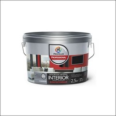 Краска в/д для стен и потолков Dufa Profilux Professional Interior (Белый)