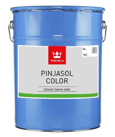 Tikkurila Pinjasol Color/Тиккурила Пиньясол Колор профессиональный лессирующий колеруемый полупрозрачный антисептик