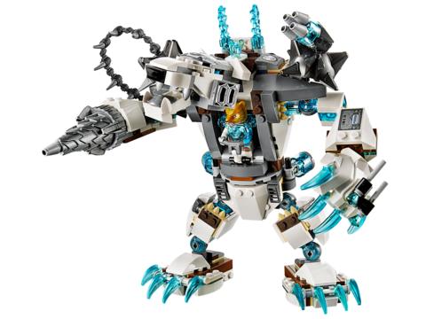 LEGO Chima: Ледяной бур Айсбайта 70223 — Icebite's Claw Driller — Лего Чима