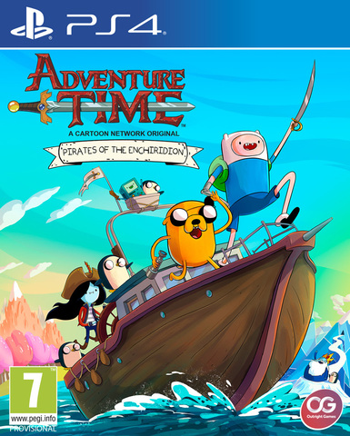 Adventure Time: Pirates of Enchiridion (PS4, английская версия)
