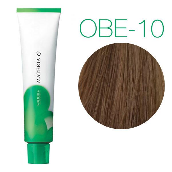 Lebel Materia Grey OBe-10 (яркий блондин оранжево-бежевый) - Перманентная краска для седых волос