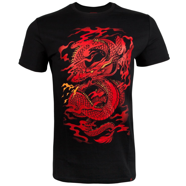 Футболки Футболка Venum Dragon's Flight T-shirt - Black/Red 1.jpg
