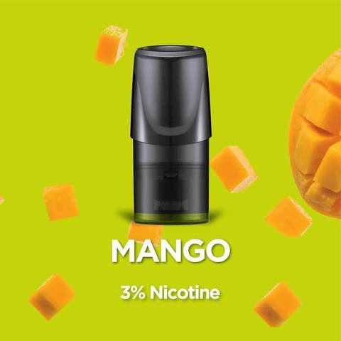 Сменный Картридж RELX 2ml Mango 3% (упаковка из 3шт)