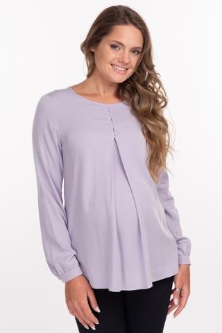 Блузка для беременных 11876 лиловый