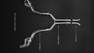 Выхлопная система Capristo для Audi RS7 Sportback