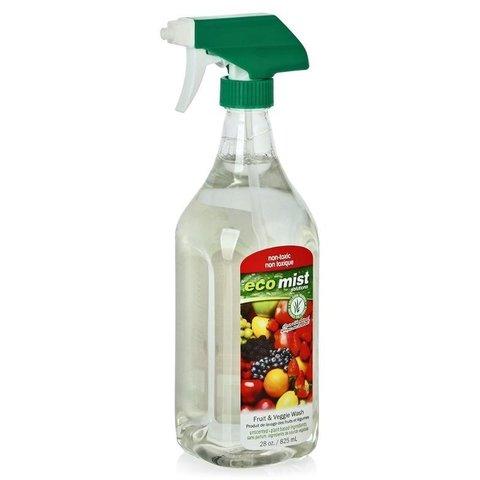 Eco Mist, Средство для мытья фруктов и овощей  825 мл