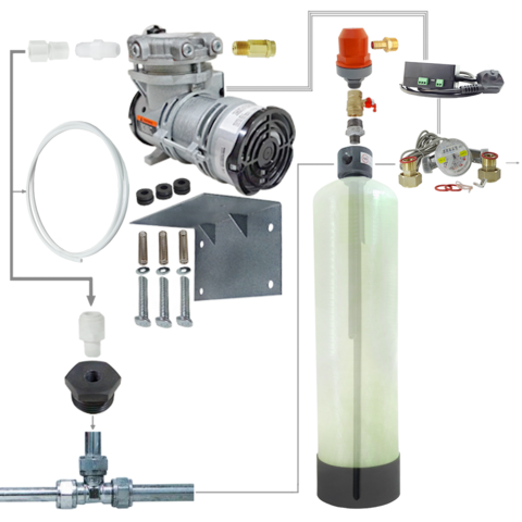 Комплект системы аэрации воды 1044 / AP2 / dn20