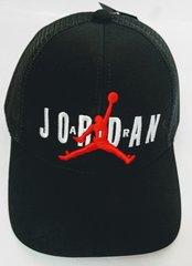 Черная кепка бейсболка air jordan Jumpman RN56323 Black.