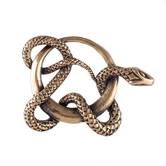 Авторские украшения Талисман Змея кулон zmey-v-koltce.jpg