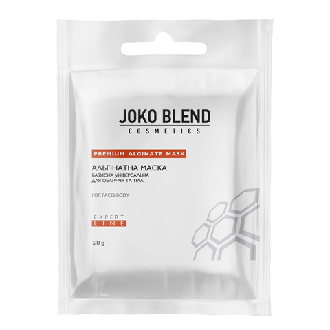 Альгинатная маска базисная универсальная для лица и тела Joko Blend 20 г (1)
