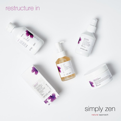 Восстанавливающий шампунь restructure in shampoo simply zen