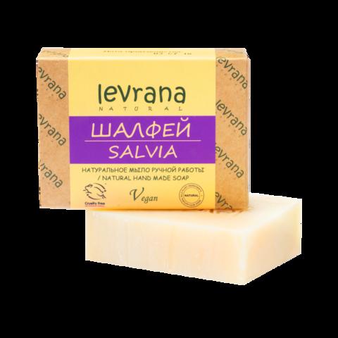Levrana Натуральное мыло ручной работы Шалфей, 100гр