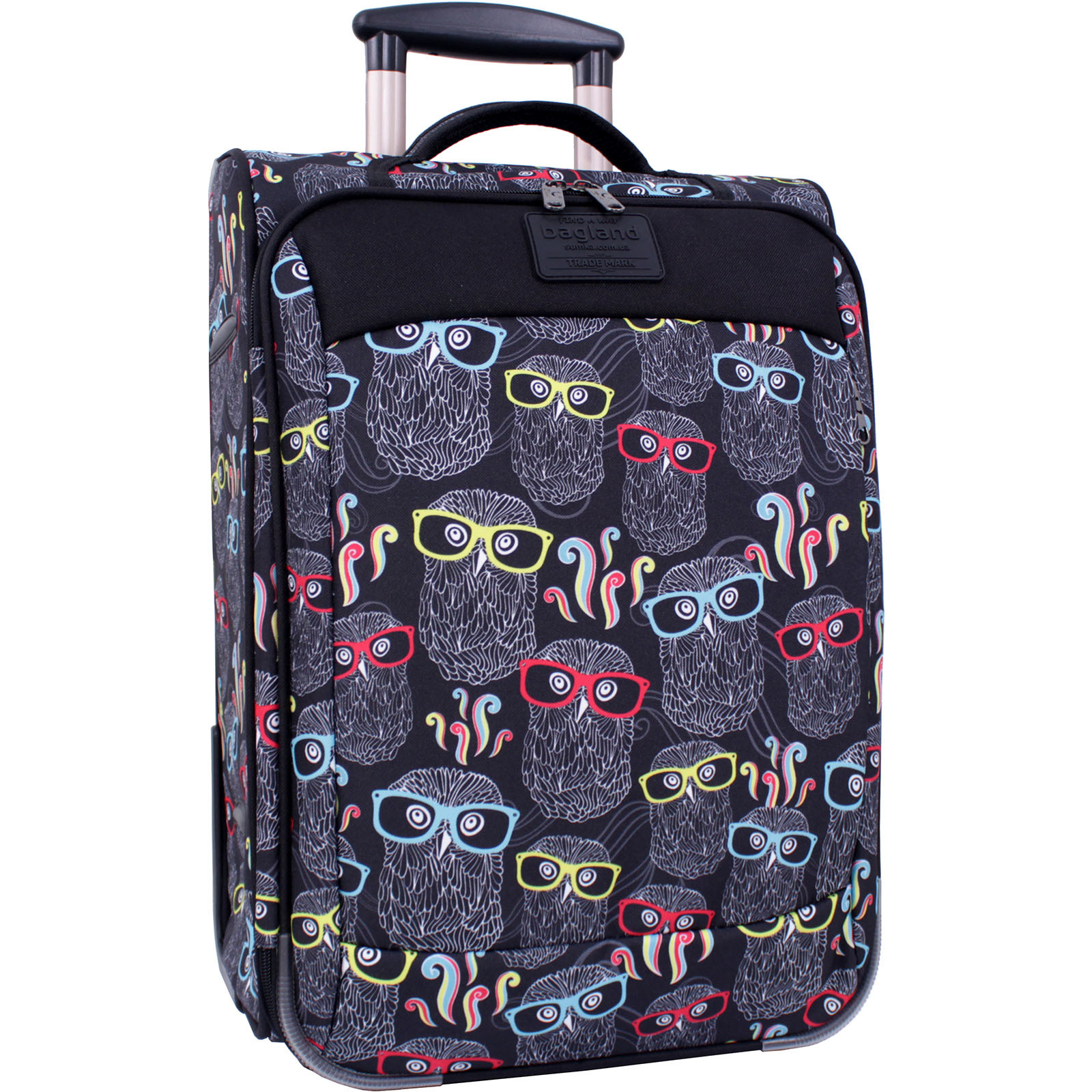 Дорожные чемоданы Чемодан Bagland Vichenzo 32 л. сублімація 403 (0037666194) IMG_7474_суб.403_.JPG