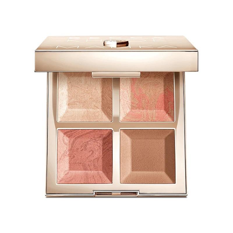 Палетка для лица Becca Khloe Malika BFFs Bronze, Blush & Glow Palette