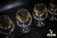 Подарочный набор из 6 хрустальных бокалов для коньяка «Министерский», 400 мл, фото 3