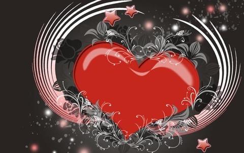 Печать на сахарной бумаге, День Влюбленных 28