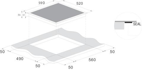 Варочная панель CANDY CIS642SCTT