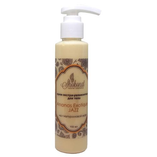 Крем-экстра-увлажнитель на гиалуроновой воде для тела Ananas Exotique Jazz Шоконат