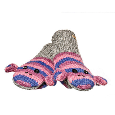 Картинка варежки Knitwits Stripe Sock Monkey