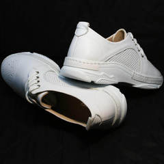 Белые туфли кроссовки летние Derem 18-104-04 All White