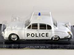 Jaguar MK II UK Police 1959 1:43 DeAgostini World's Police Car #3