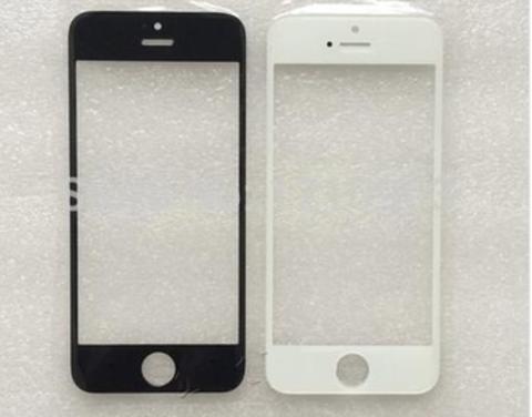 Фронтальное стекло, лицевое стекло iPhone 5/5S/5C (черное/белое)