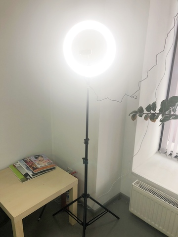 Кольцевая лампа 27 см