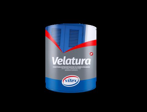 Алкидная грунтовка на растворителе для стен и деревянных поверхностей.Velatura