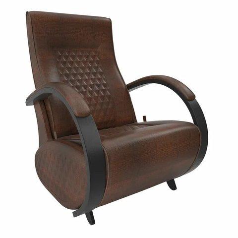 Кресло-глайдер Balance Balance-3 с накладками, венге/Antik Crocodile, 014.003