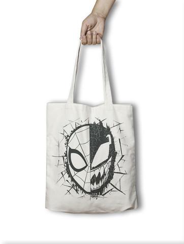 Хлопковая сумка Человек-Паук Веном