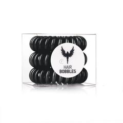Силиконовая резинка для волос Hair Bobbles  - Черная