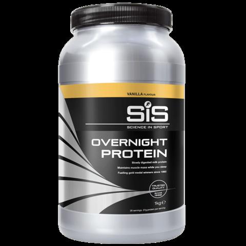 SiS Overnight Protein  ночной протеин в порошке, вкус Ваниль 1 кг.