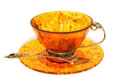 "Янтарная чашечка для чая, серия ""Восточная сказка"""
