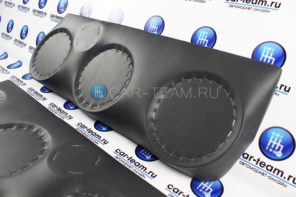 Акустические подиумы 16см+16см+16см+рупор на ВАЗ 2110-12 штатные обшивки