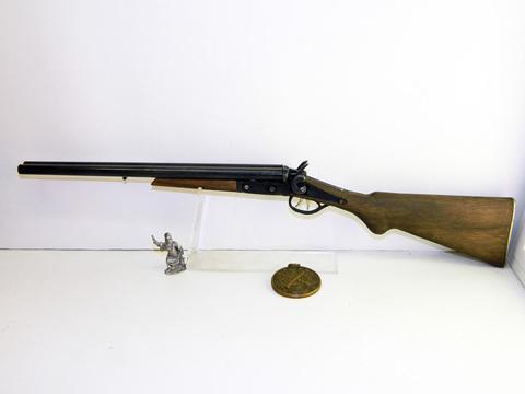 Miniature Wyatt Earp shotgun scale 1:2,5