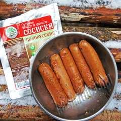 Сосиски консервированные 'Кронидов', 250г обжаренные