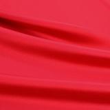 Шёлковый стретч-атлас красного цвета