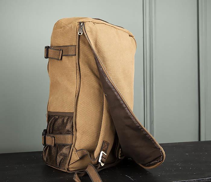 BAG365-2 Рюкзак-трансформер из плотного текстиля фото 07
