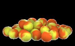 Бойлы насад. плав. двух цв. Sonik Baits TUTTI FRUTTI-PINEAPPLE Fluo Pop-ups 14мм 90мл