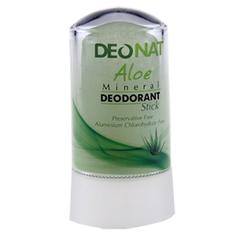 Минеральный дезодорант-кристалл c алоэ DeoNat (60 г)