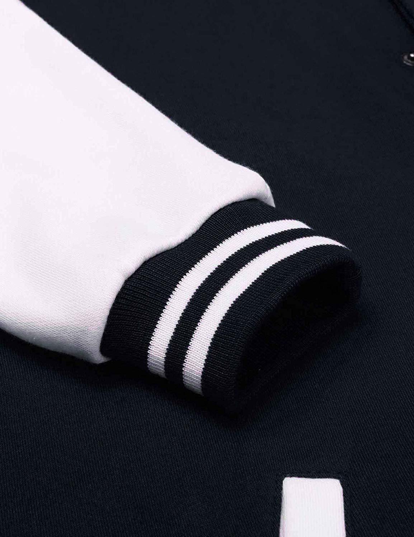 Бомбер темно-синий рукав фото