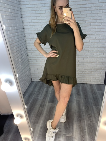 платье хаки летнее купить